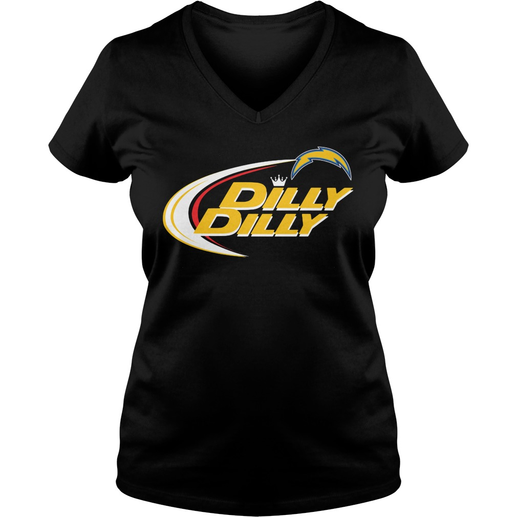 Official Los Angeles Chargers Dilly Dilly Bud Light Shirt