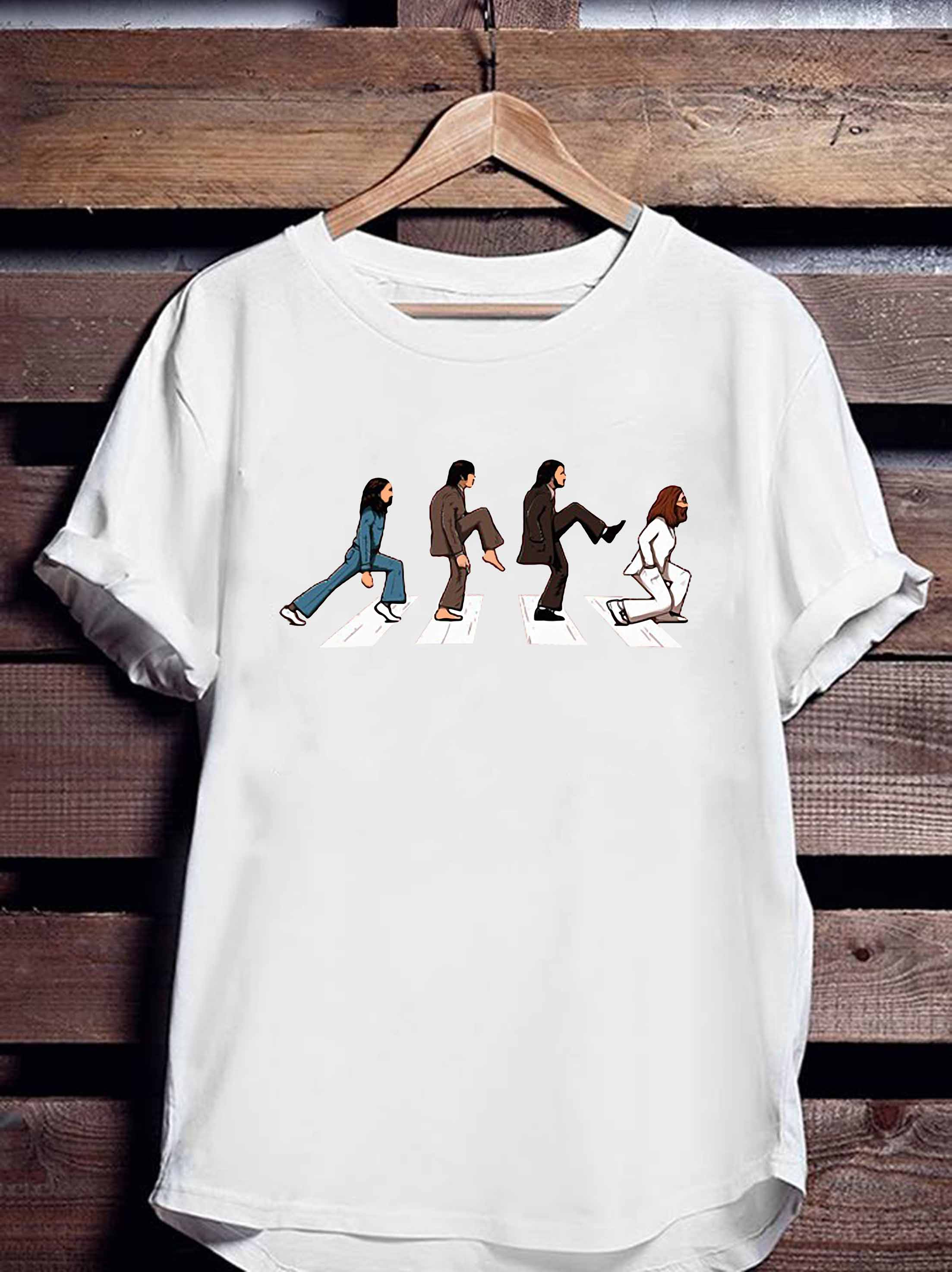 The Beatles Abbey Road Ministry Of Silly Walks Shirt