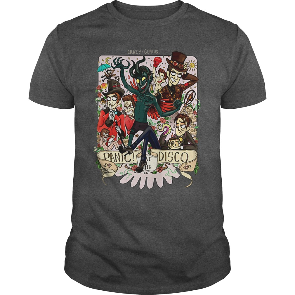 Crazy Genius Panic at the Disco shirt