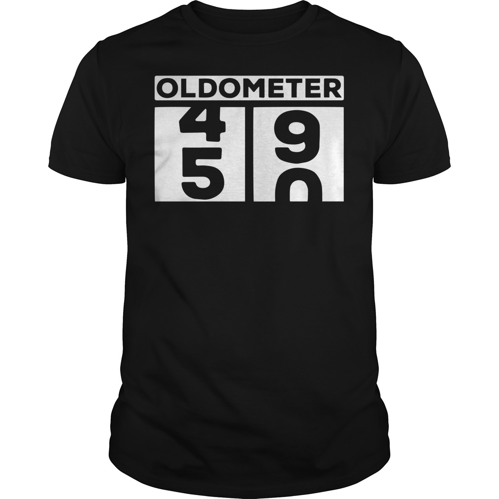 Oldometer 50 years old shirt