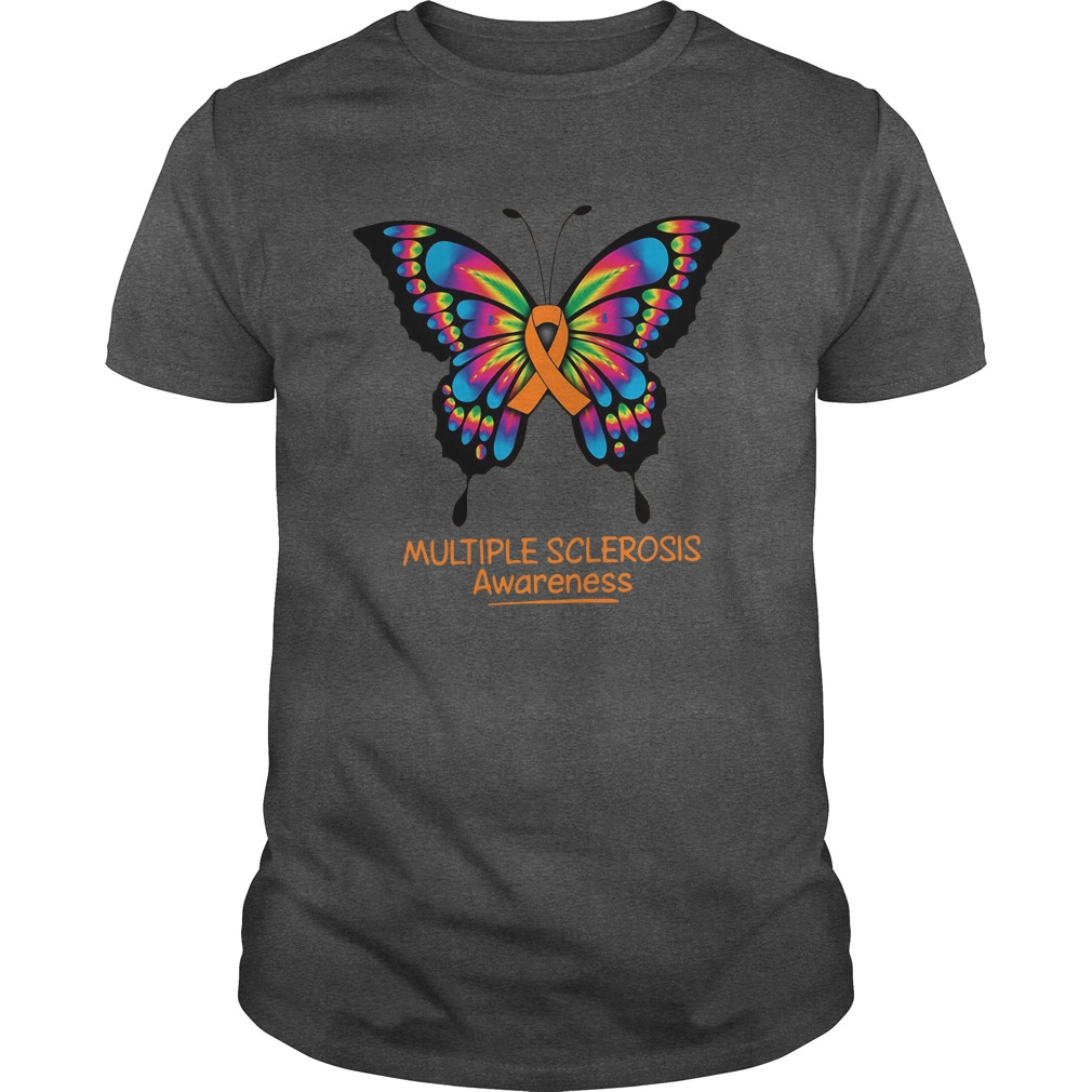 Multiple Sclerosis Awareness Butterfly shirt