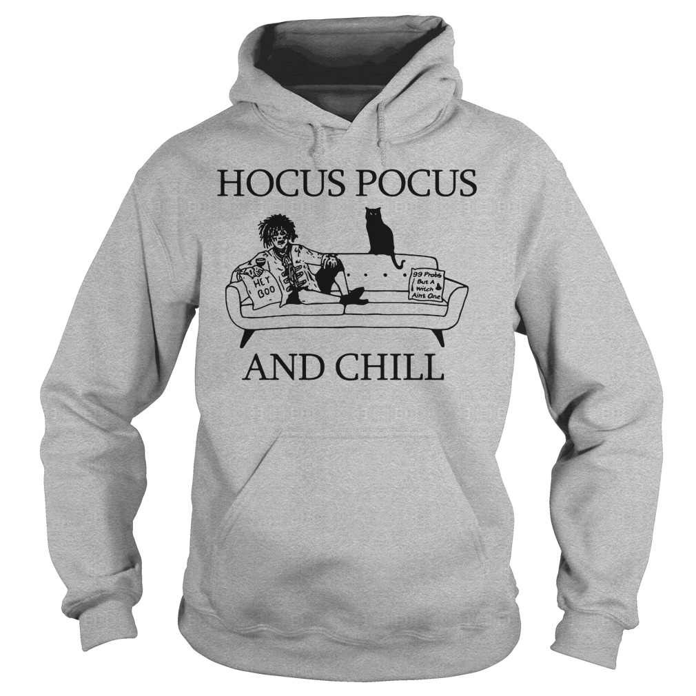 Billy Butcherson Hocus Pocus and chill Halloween hoodie