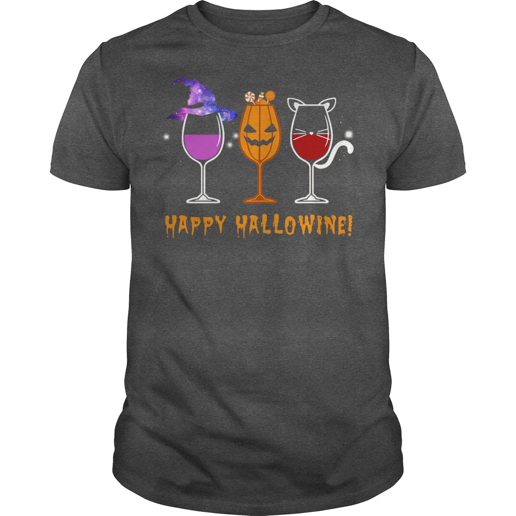 Disney wine Happy Hallowine shirt