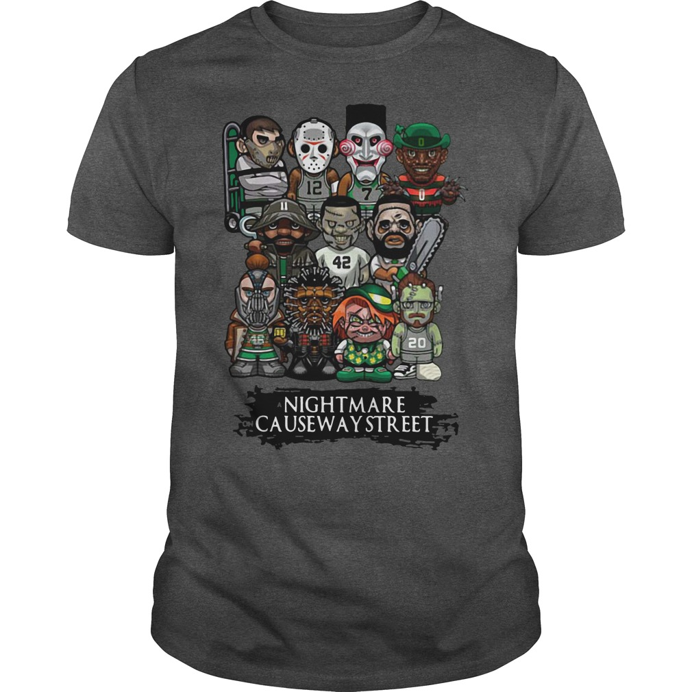 A Nightmare on causeway street Halloween shirt
