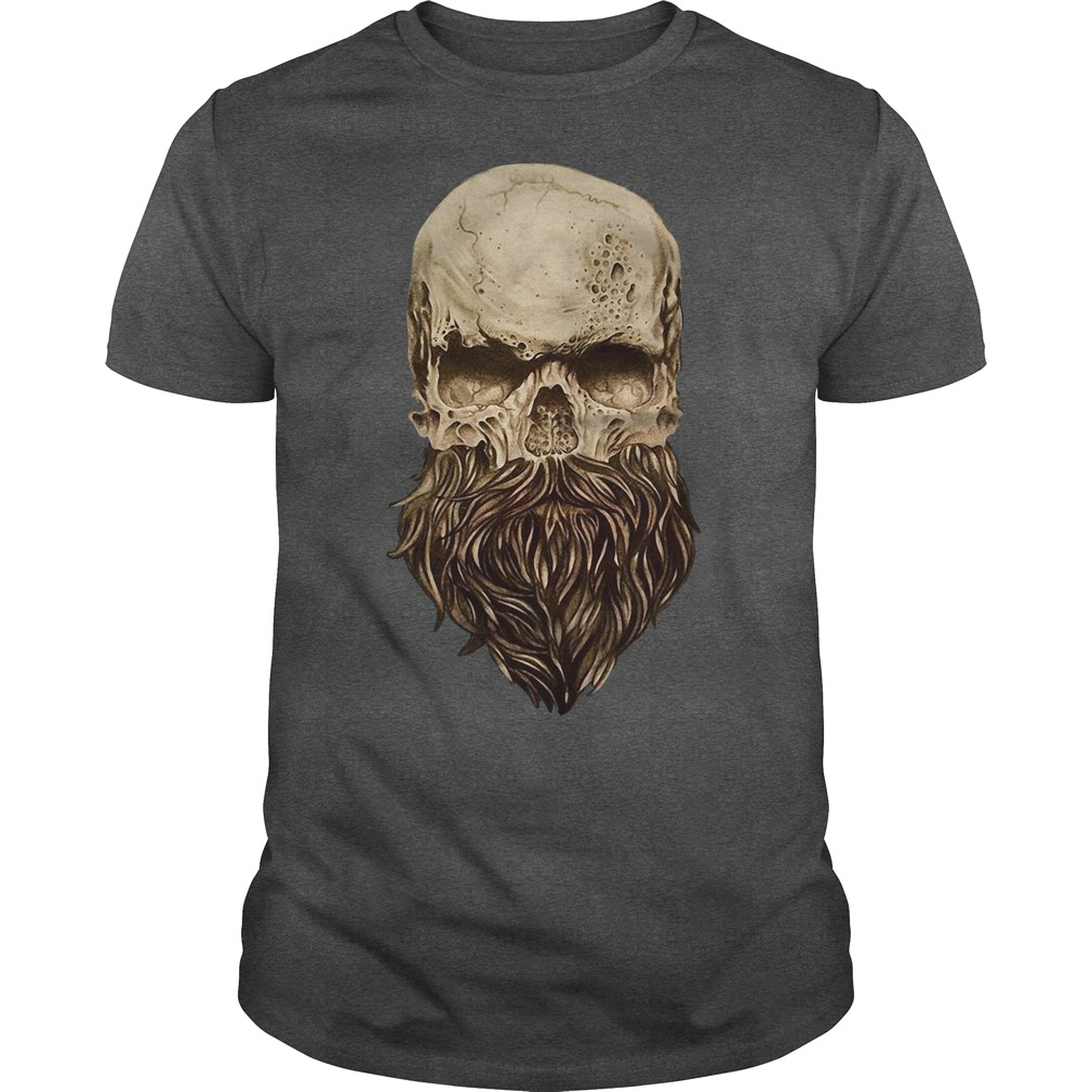 Skull barbu halloween shirt