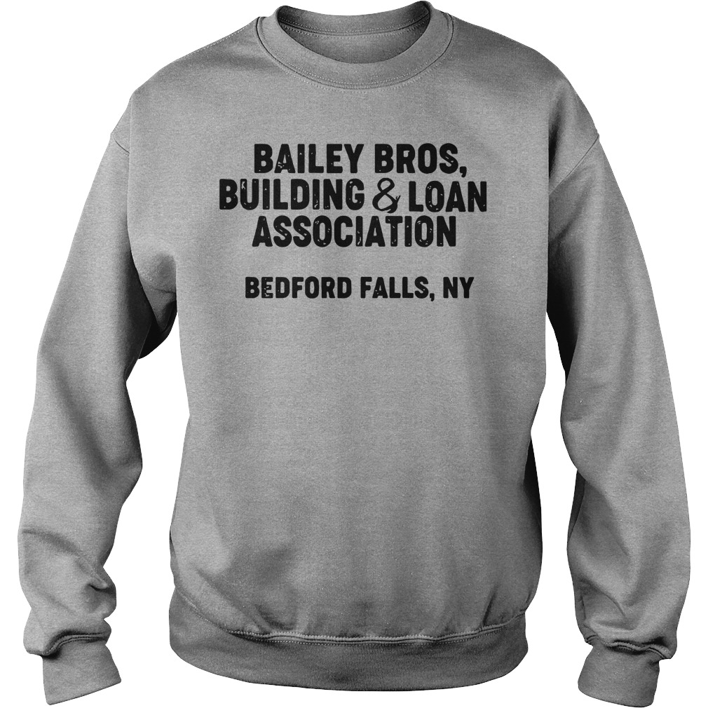 Bailey bros building and loan association bedford falls ny sweater