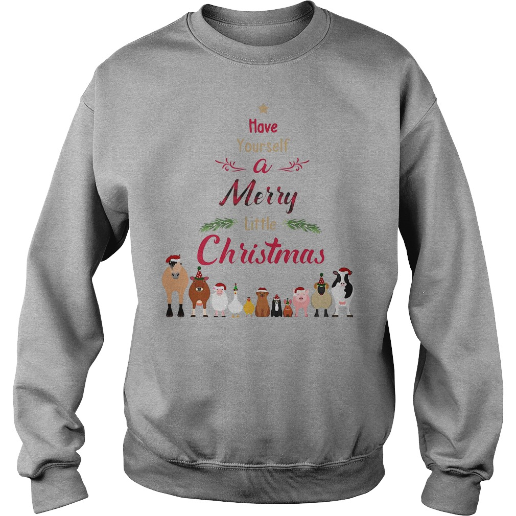 Cattle farmers Have your self a merry little christmas sweater