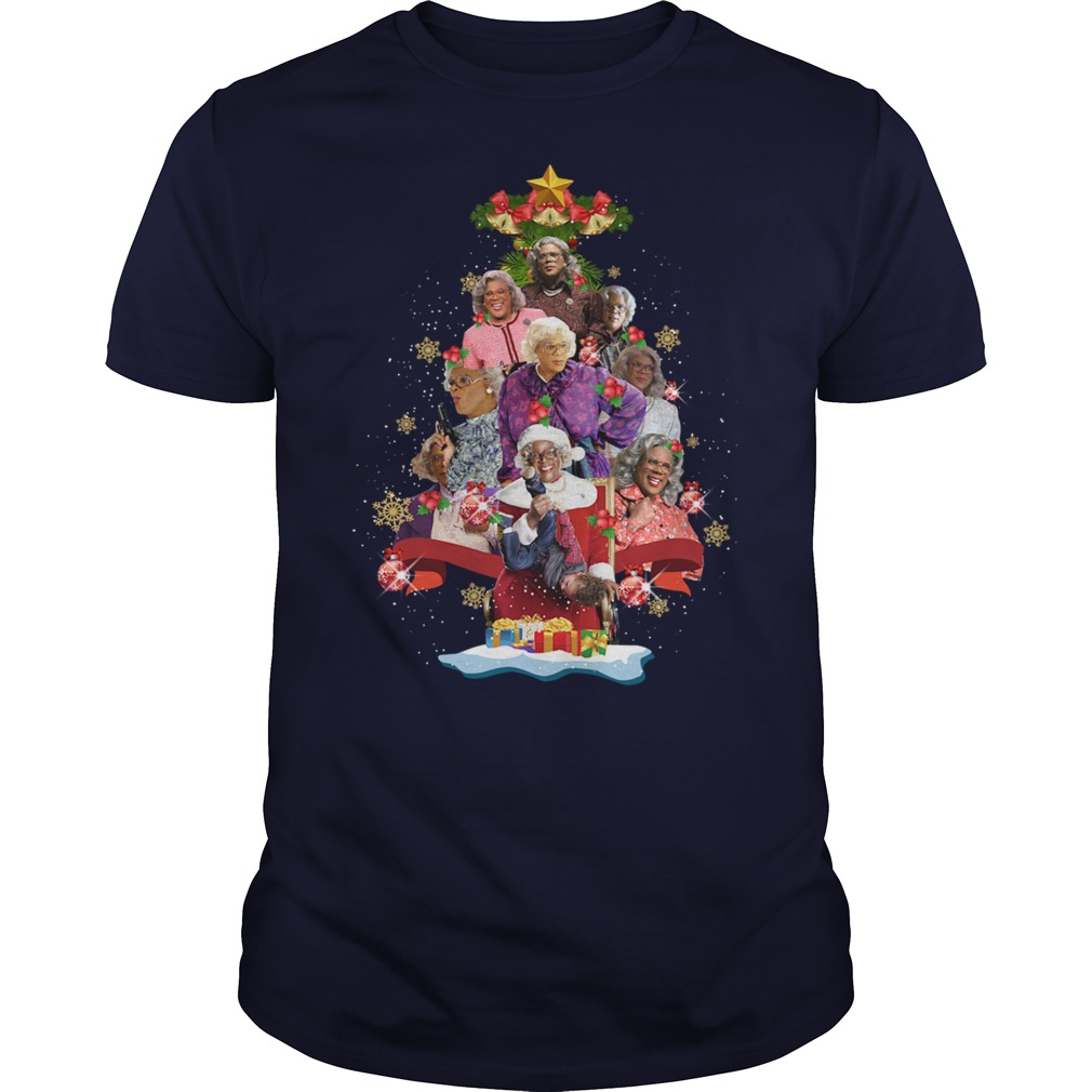 Madea Christmas tree shirt