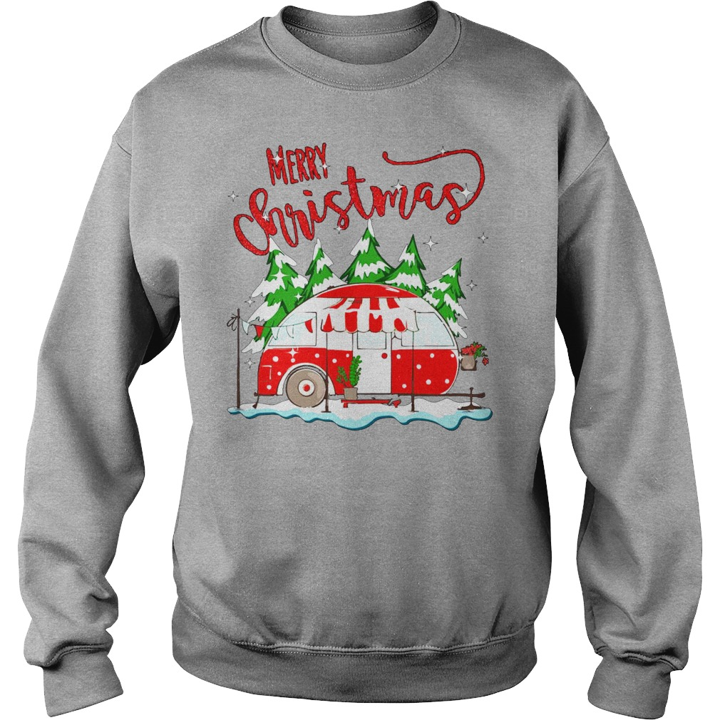 Merry christmas go camping sweater