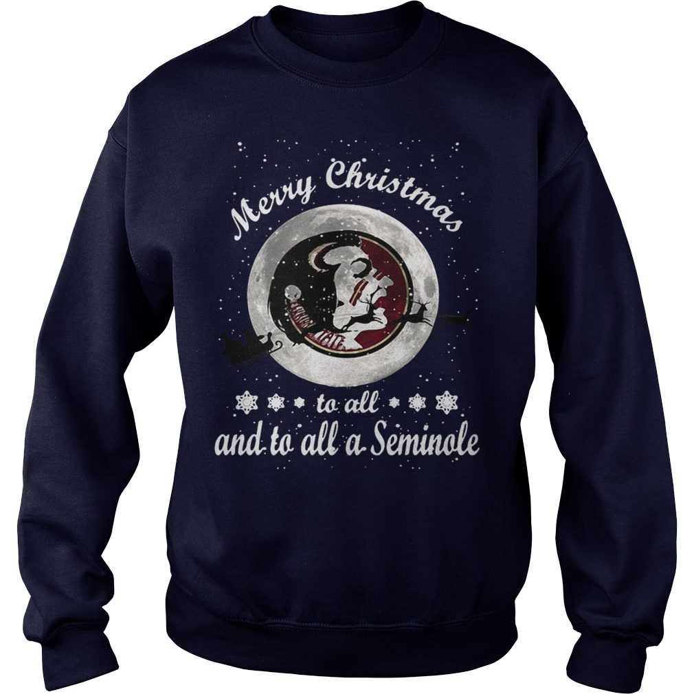 Merry Christmas to all and to all a Seminole sweater