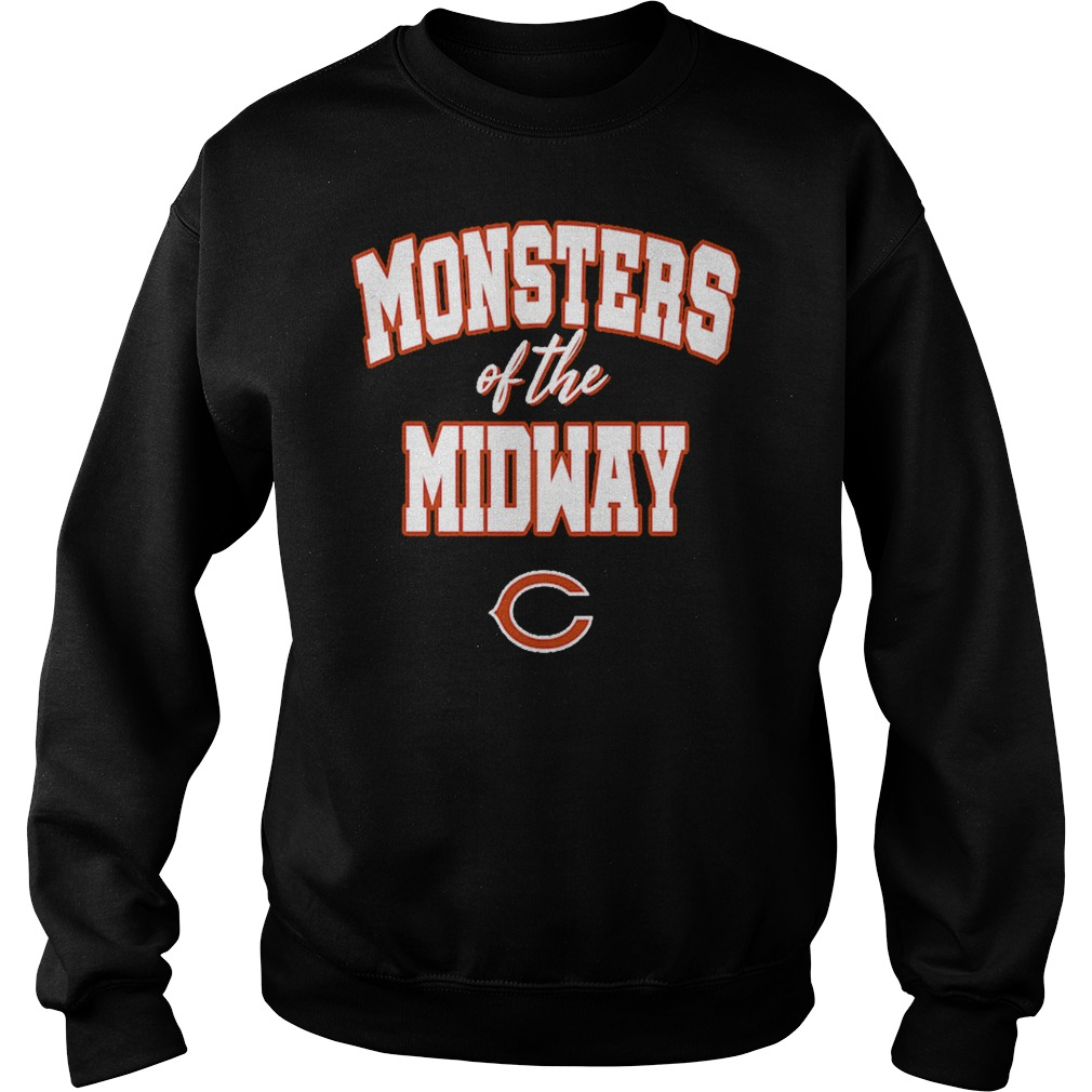 Monsters of the midway Chicago Bears sweater