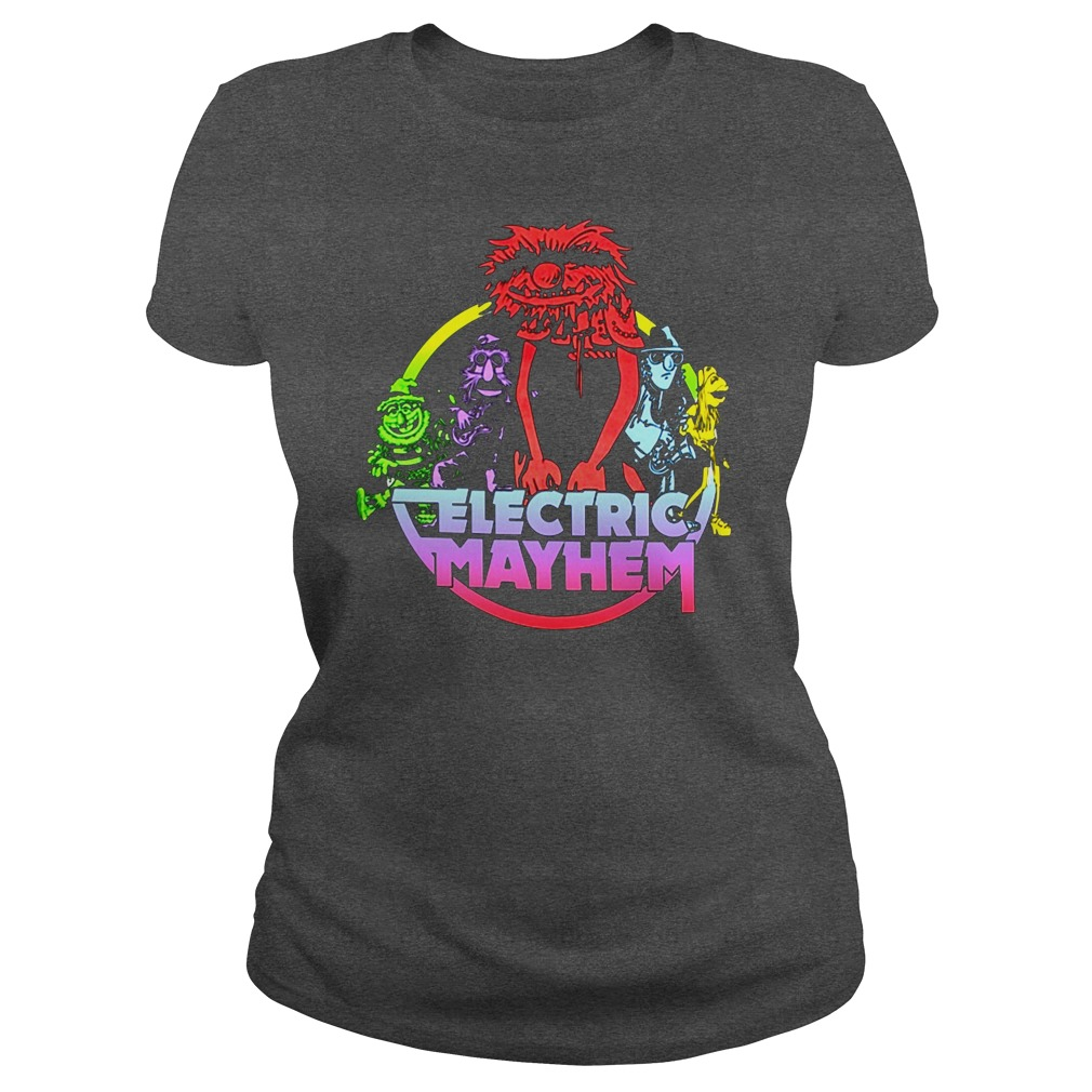 Muppets Electric mayhem ladies tee
