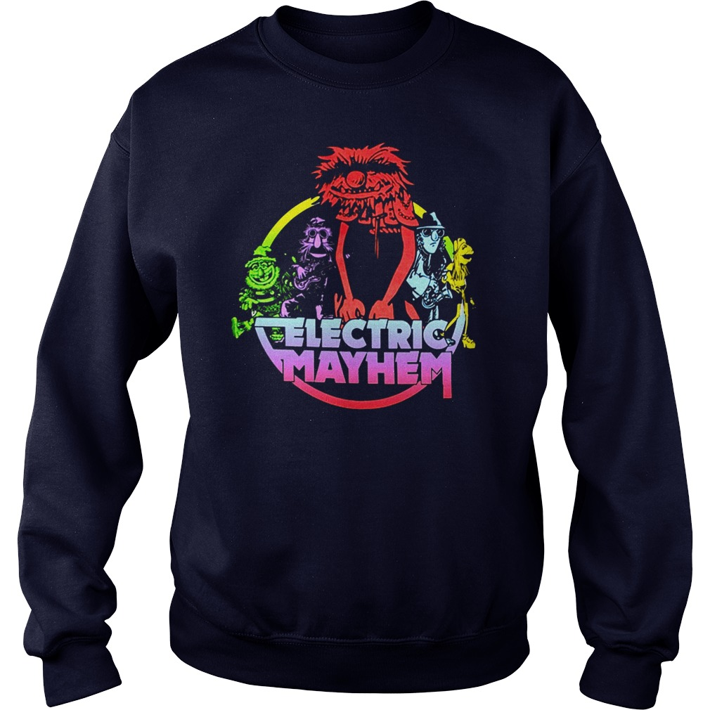 Muppets Electric mayhem sweater