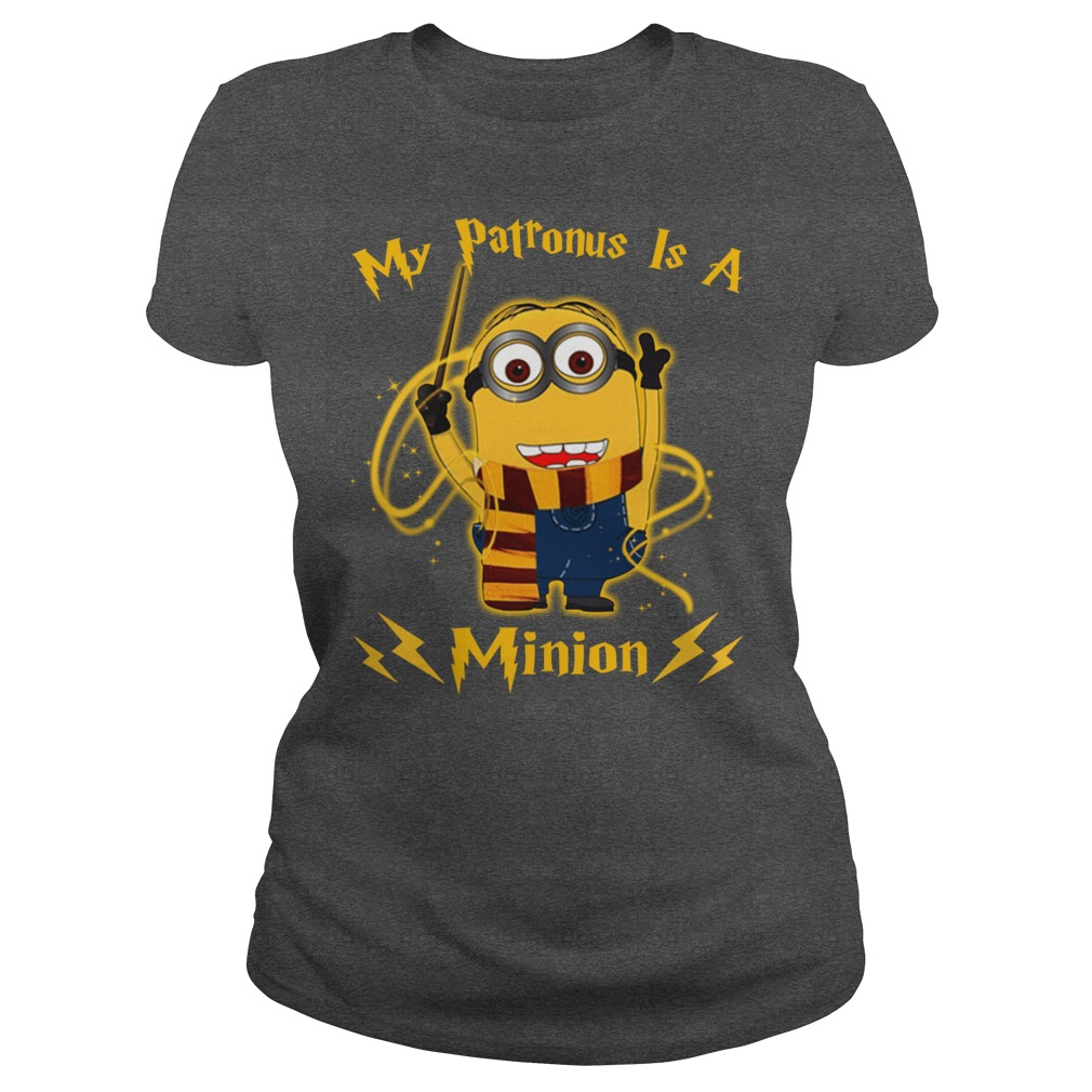 My patronus is a Minion ladies tee