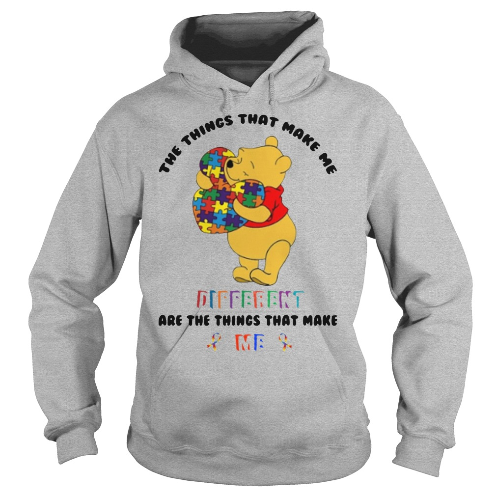 Pooh The things that make me different are the things that make me hoodie