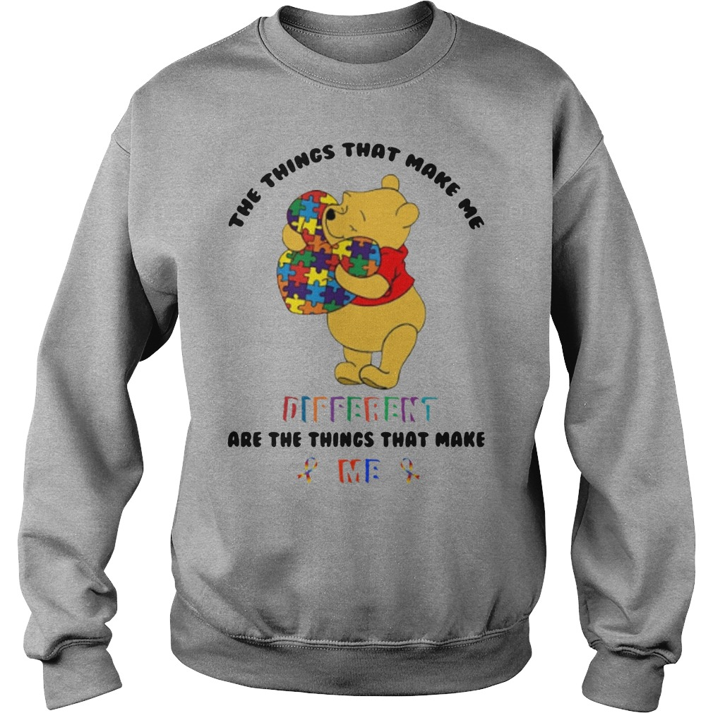 Pooh The things that make me different are the things that make me sweater