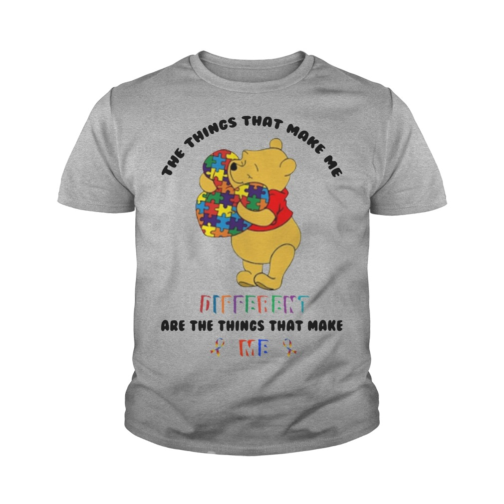 Pooh The things that make me different are the things that make me youth tee