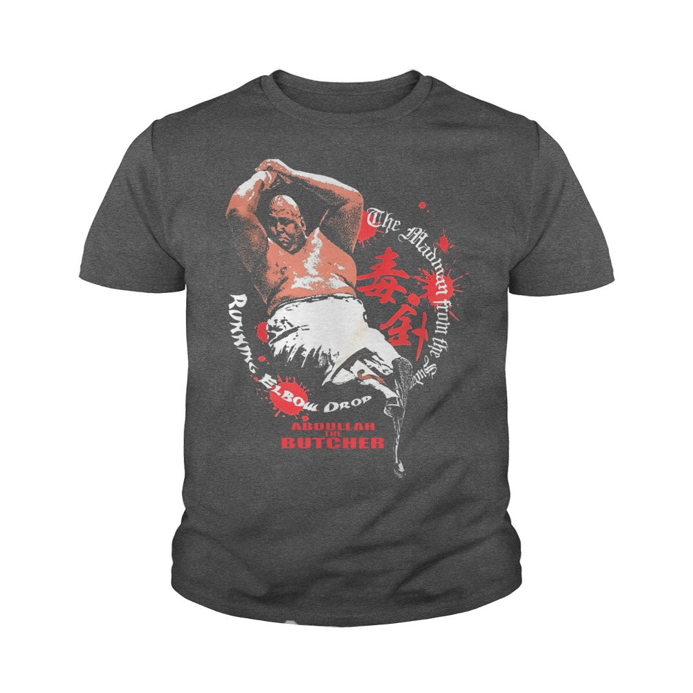 Abdullah The Butcher youth tee