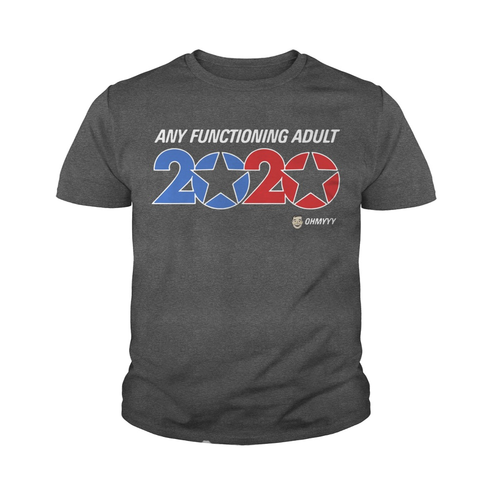 George Takei any functioning adult 2020 youth tee