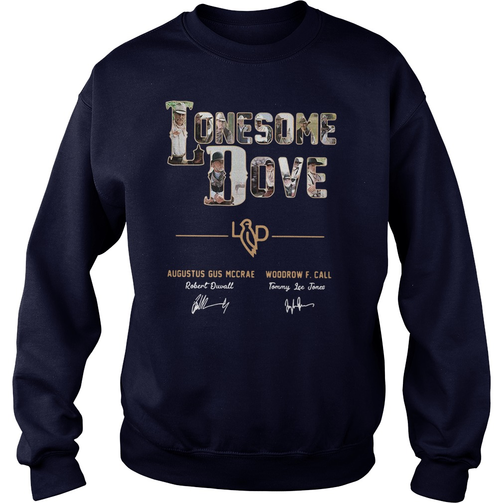 Lonesome Dove Augustus Gus Mccrae Robert Duvall Woodrow Call Tommy Lee Jones sweater