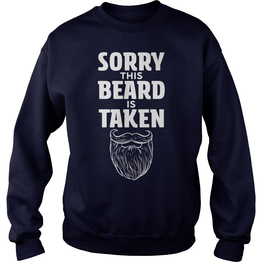 Sorry This Beard is Taken sweater