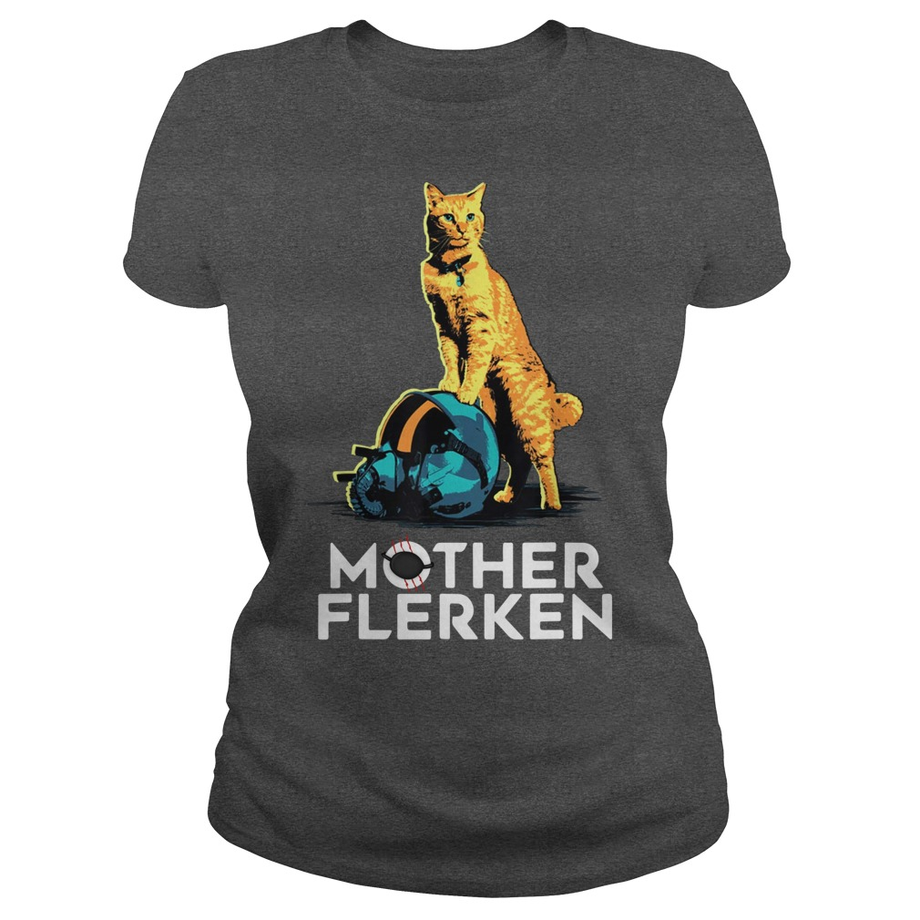 Captain Marvel Goose The Cat Mother Flerken shirt ladies tee