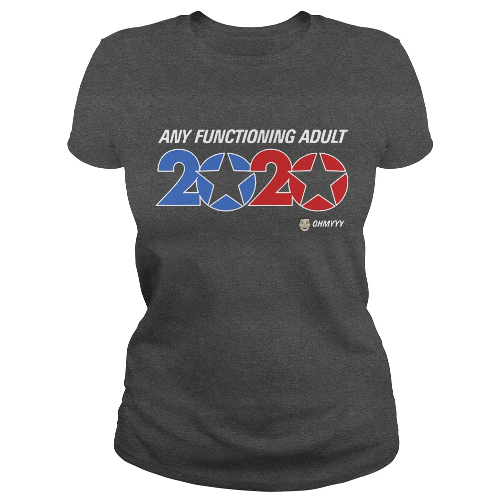 George Takei any functioning adult 2020 women shirt ladies tee