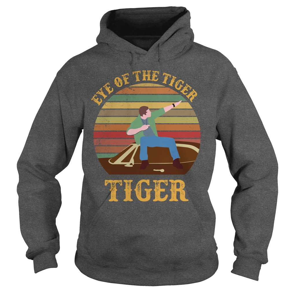 Supernatural Dean Eye Of The Tiger shirt hoodie