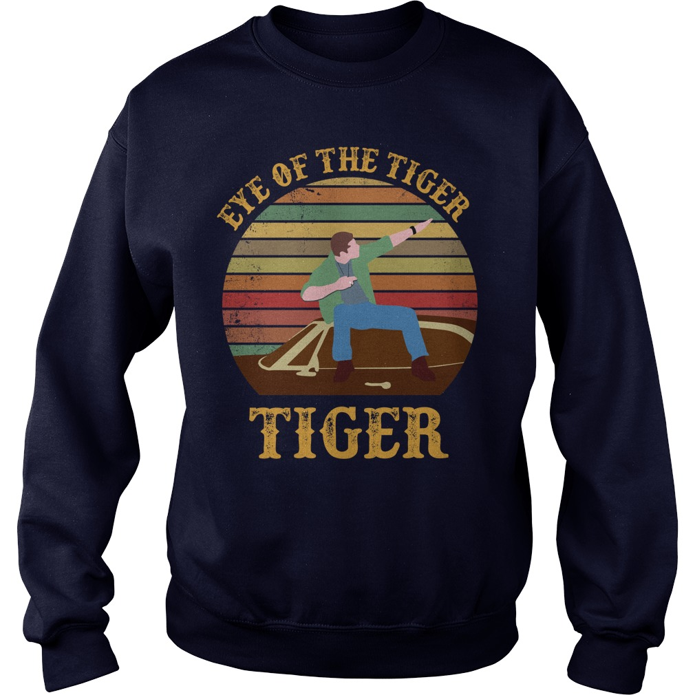 Supernatural Dean Eye Of The Tiger shirt sweater