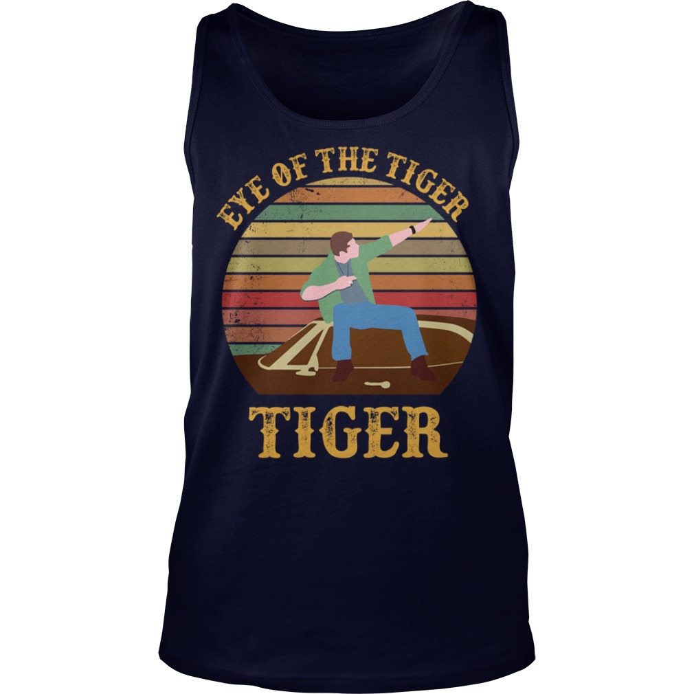 Supernatural Dean Eye Of The Tiger shirt tank top