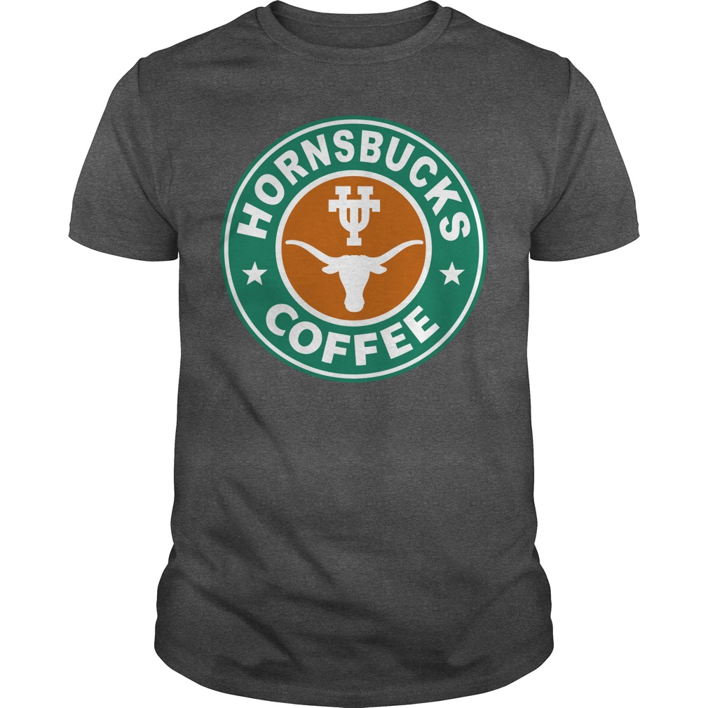 Horns bucks Cafe starbucks shirt