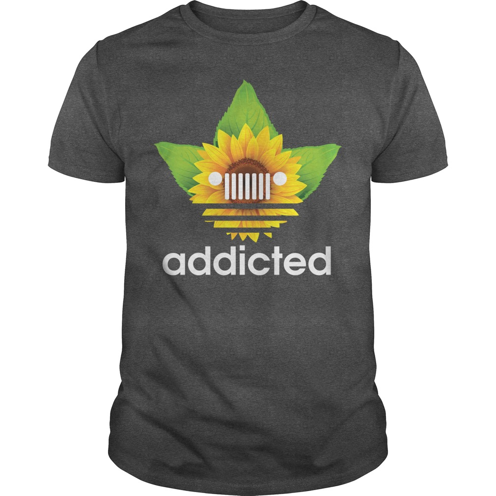 Jeep sunflower addicted shirt