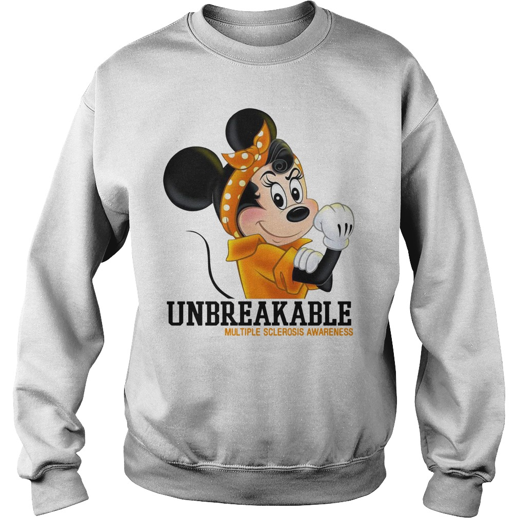 Mikey Unbreakable multiple sclerosis awareness shirt sweater