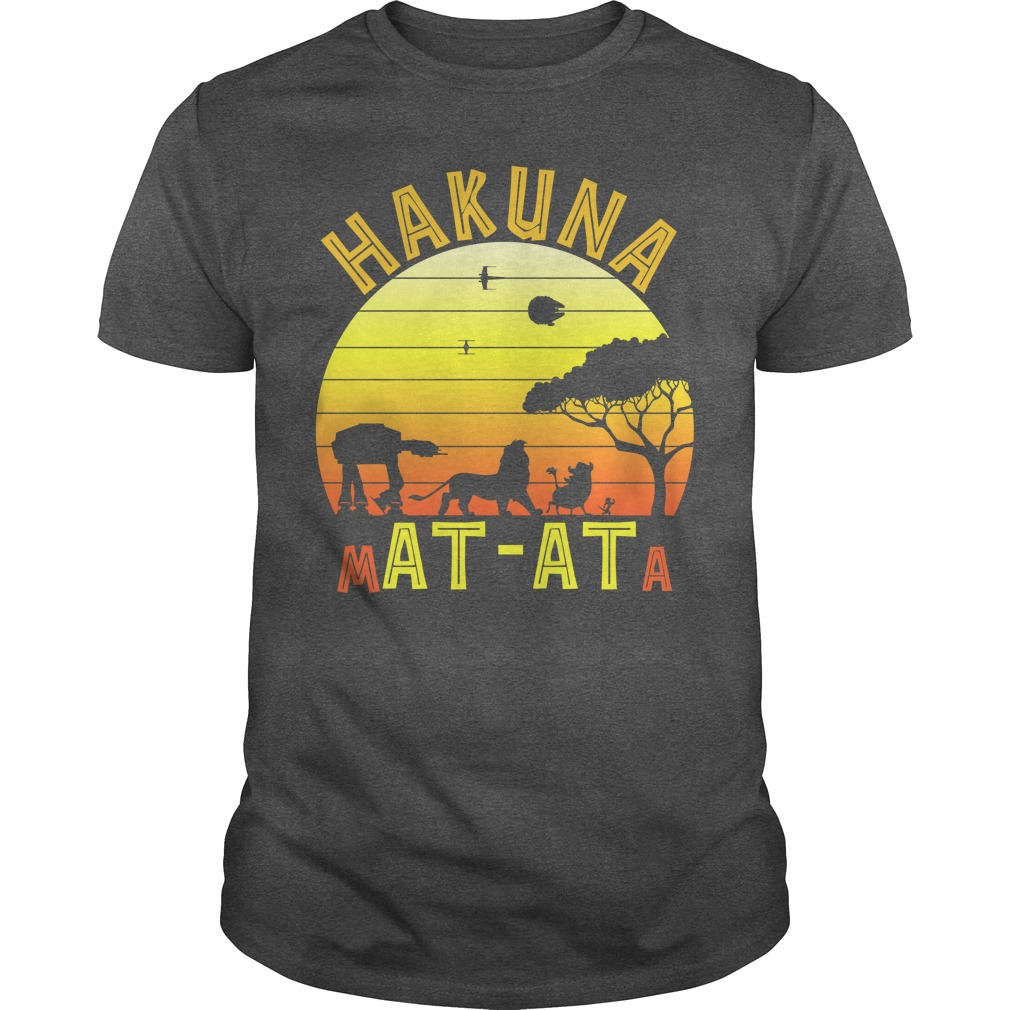 Star War Lion king hakuna matata vintage shirt