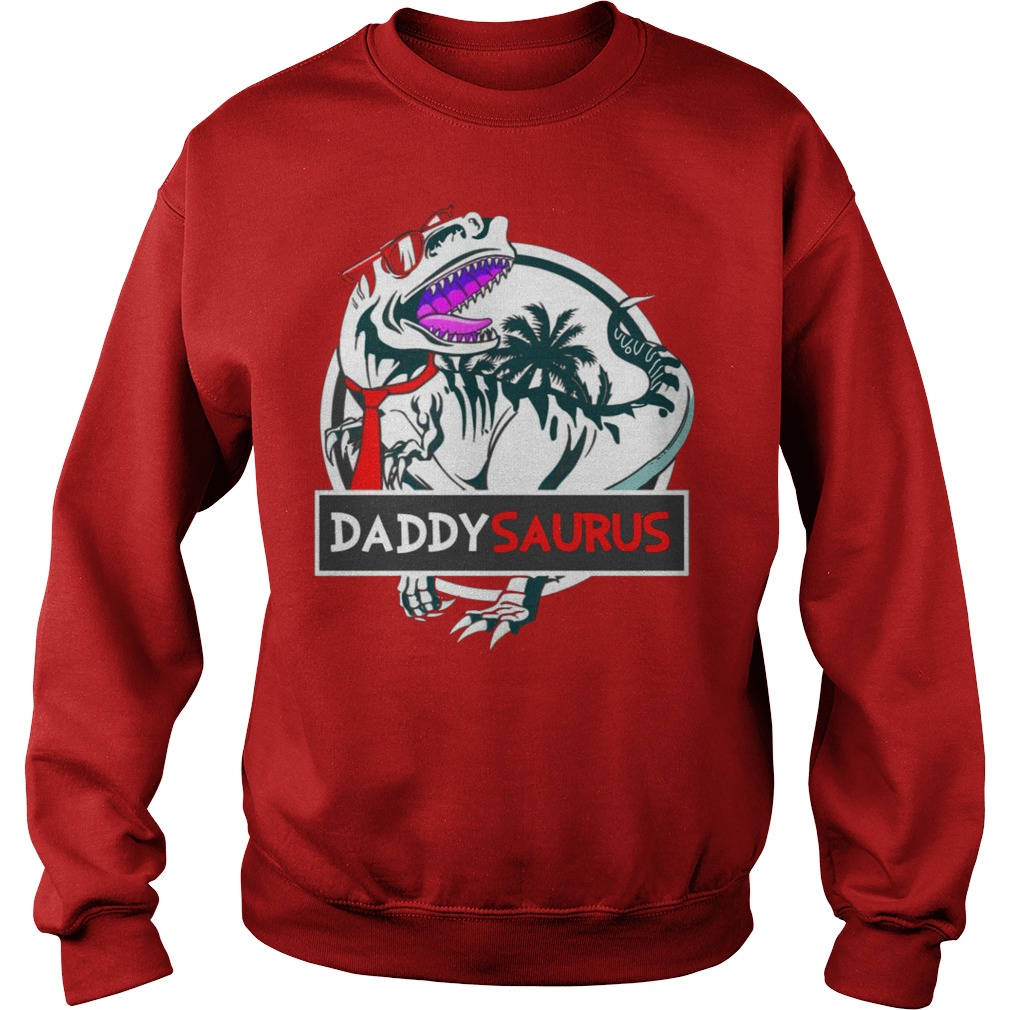 Daddy Saurus Glasses shirt sweater