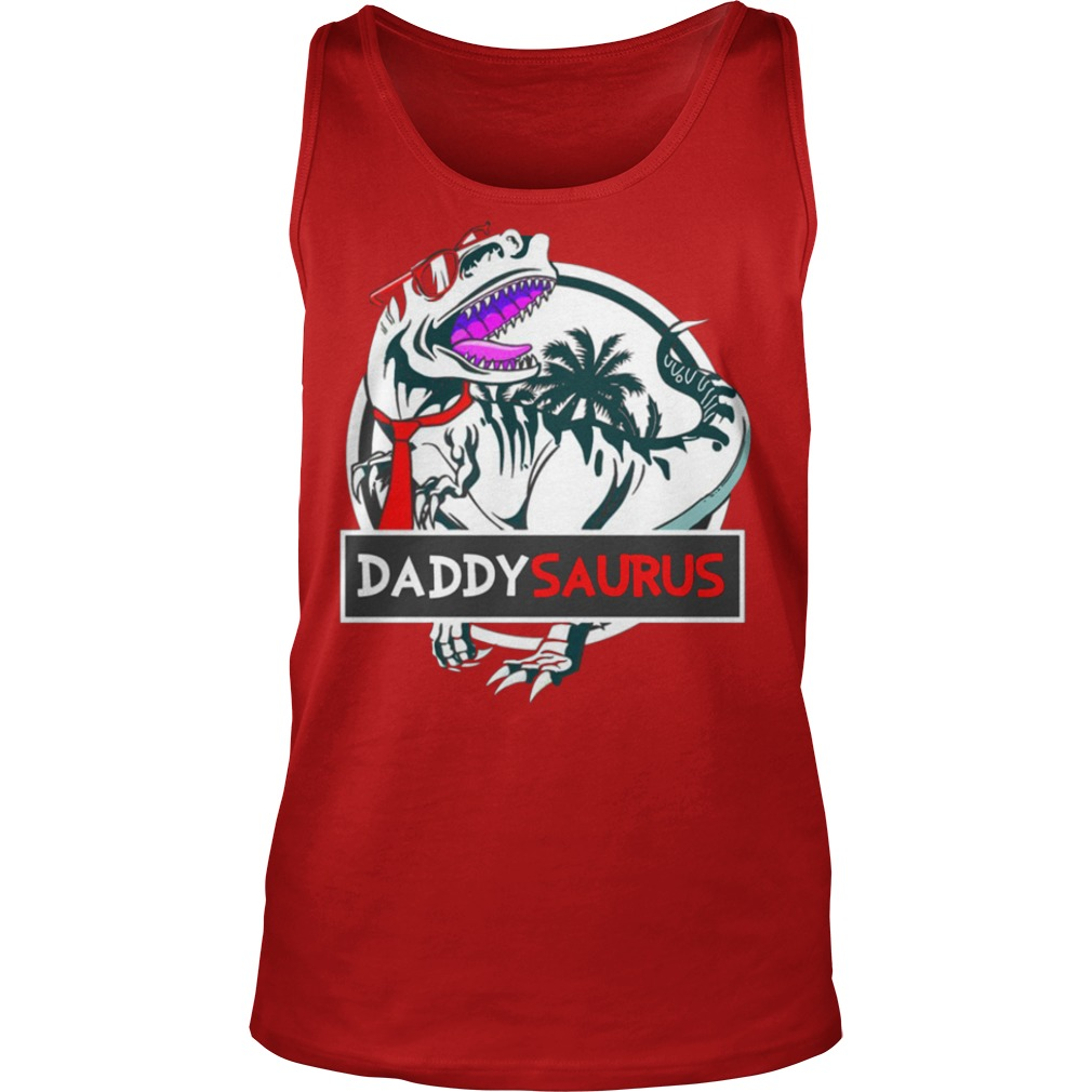 Daddy Saurus Glasses shirt tank top
