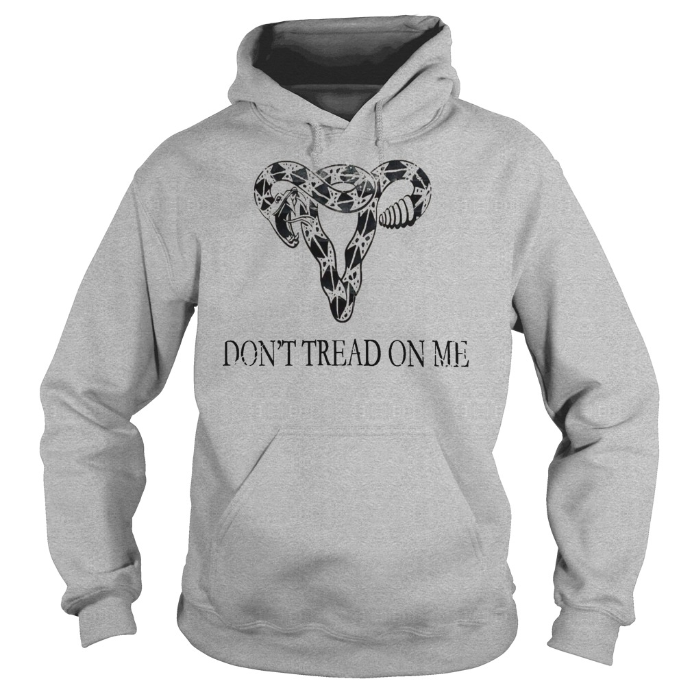 Don't tread on me elephant head shirt hoodie