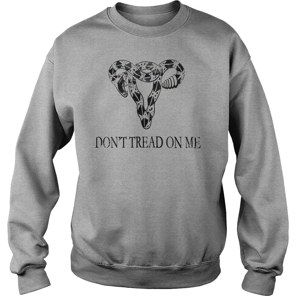 Don't tread on me elephant head shirt sweater