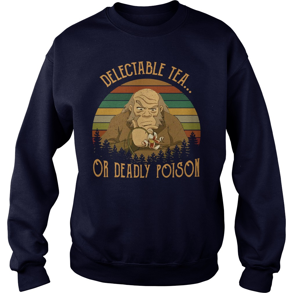 Uncle Iroh delectable tea or deadly poison vintage shirt sweater