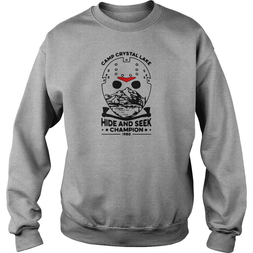 Jason voorhees camp crystal lake hide and seek champion 1980 shirt sweater
