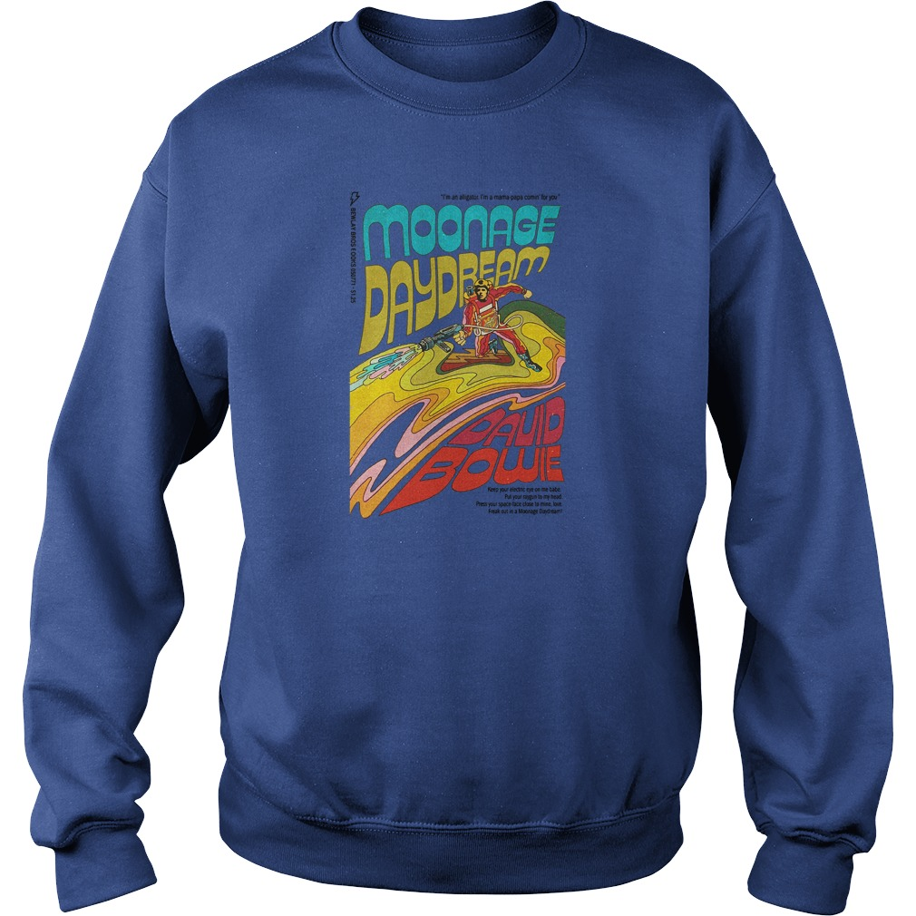 Moonage daydream david bowie shirt sweater