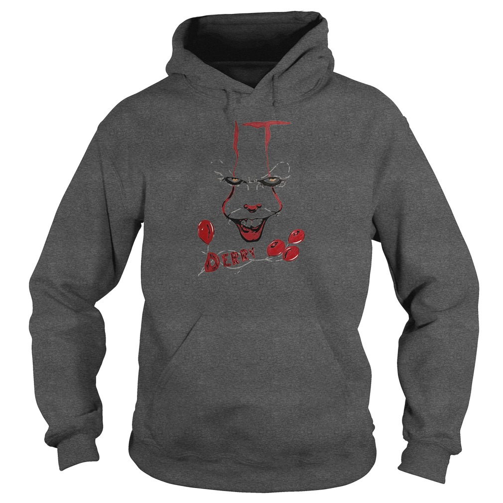 Derry pennywise it chapter two shirt hoodie