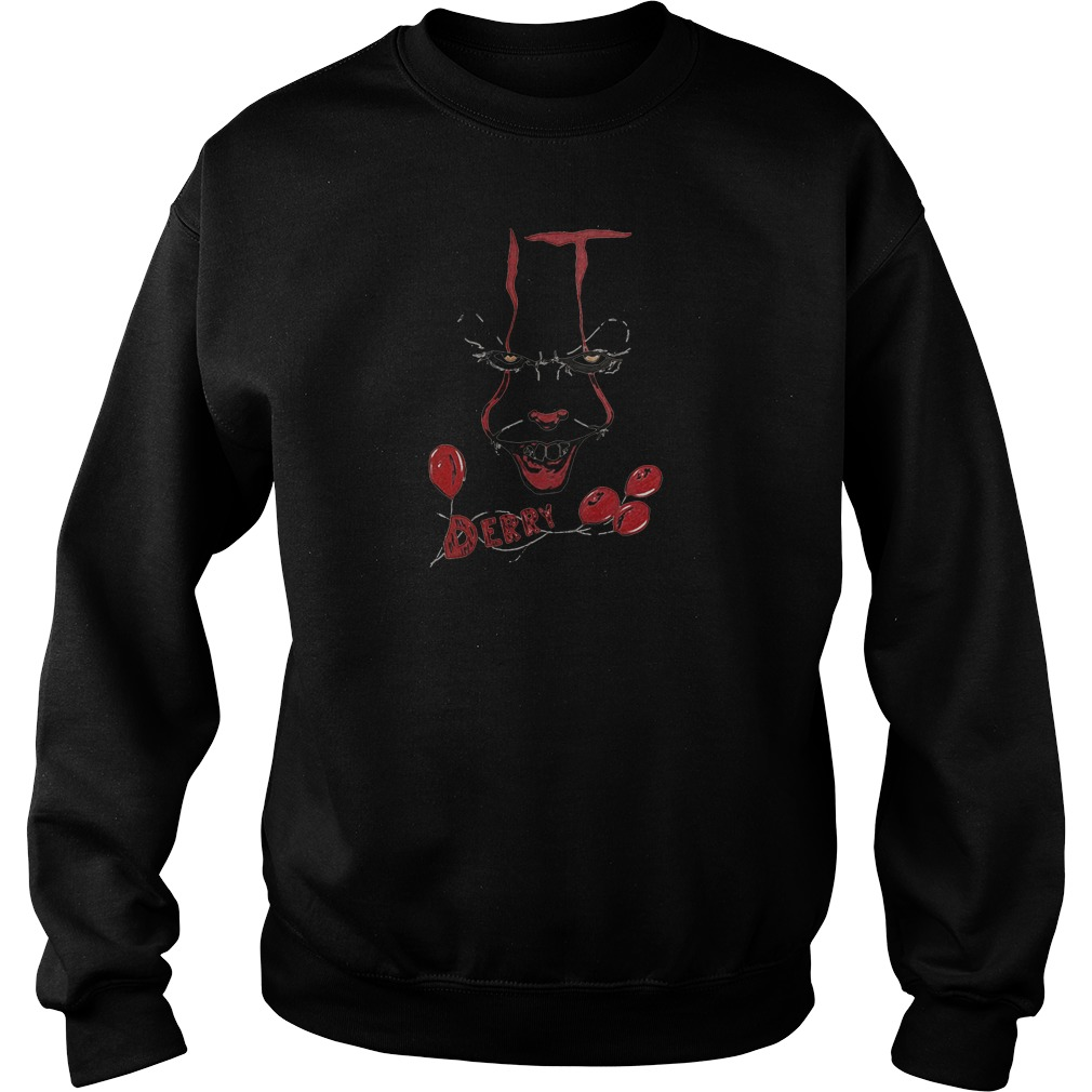Derry pennywise it chapter two shirt sweater