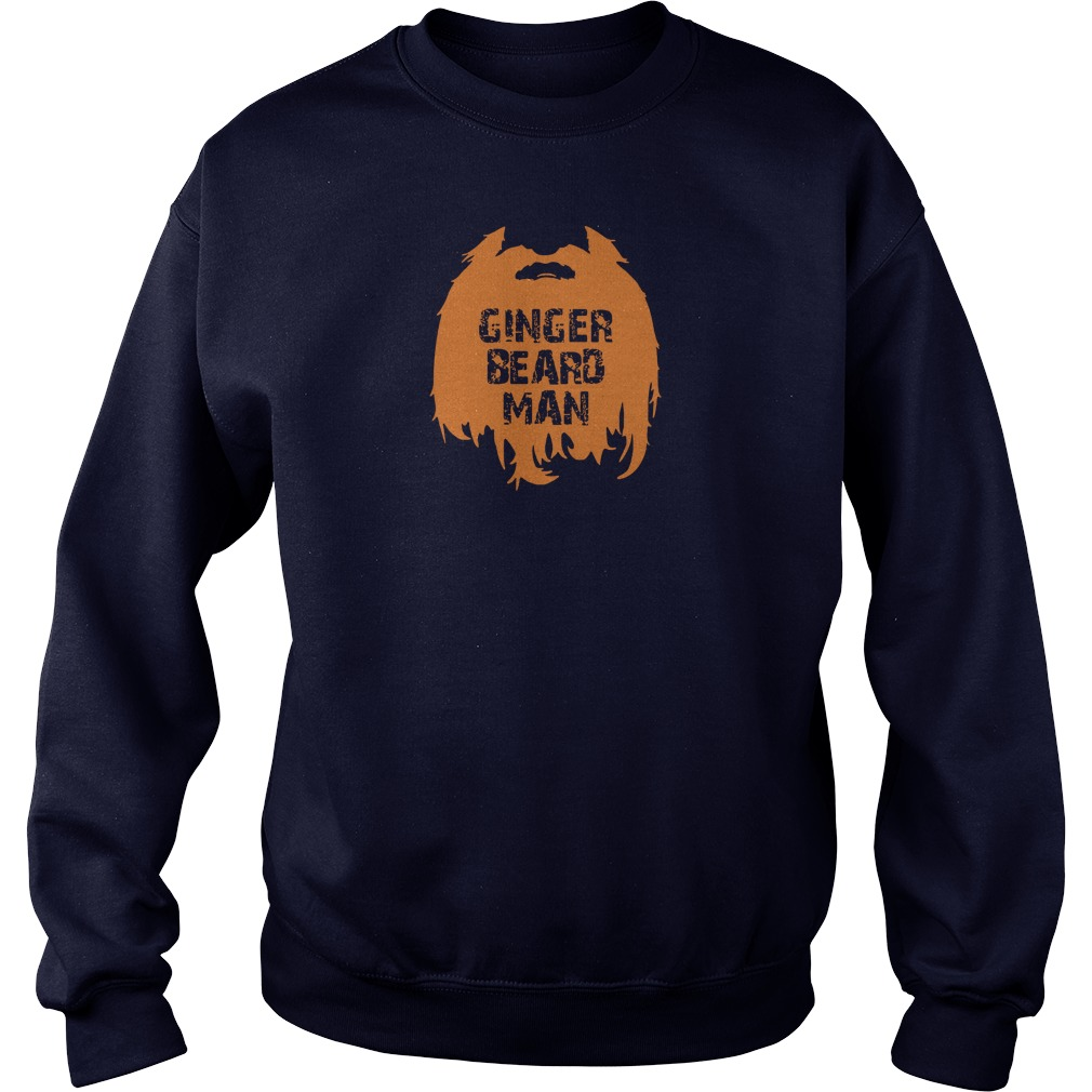 Ginger beard man shirt sweater