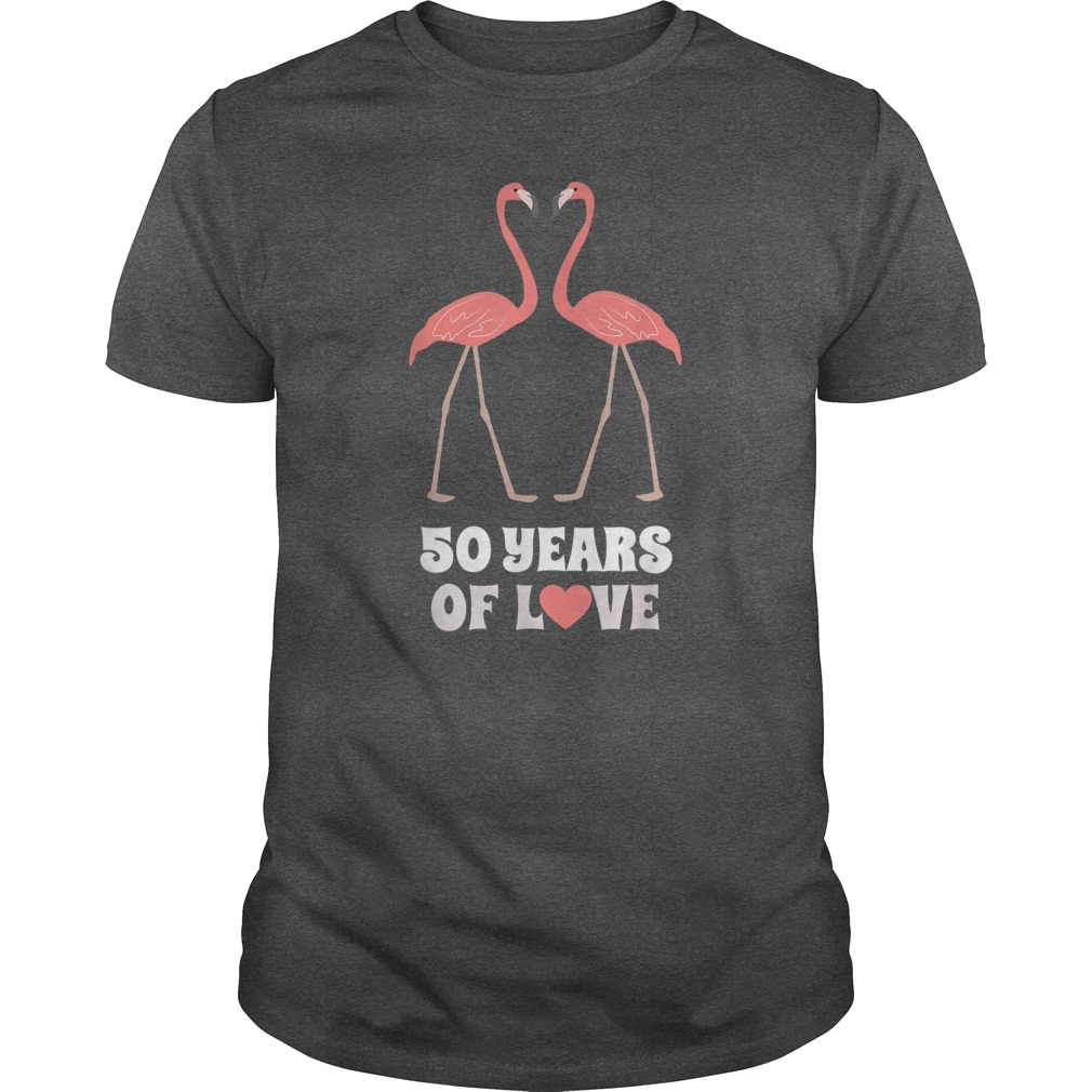 Flamingo 50 Years Of Love Shirt