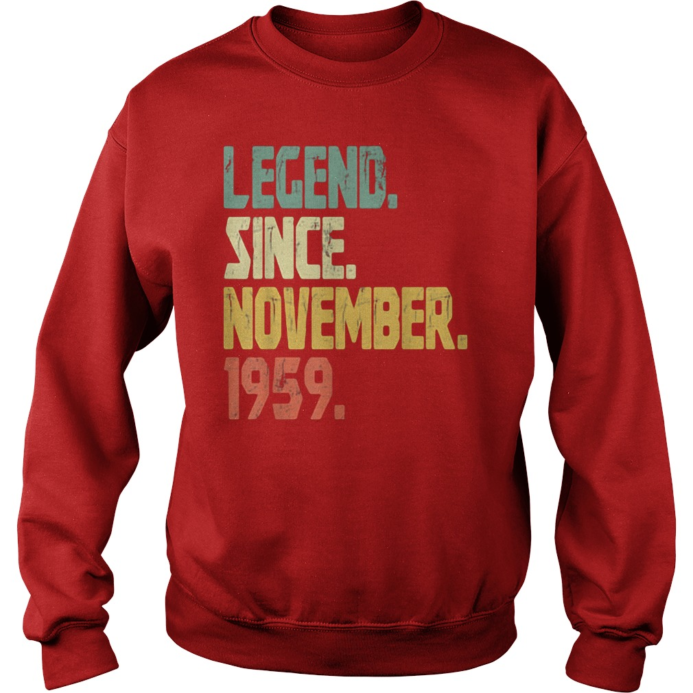 Legend Since November 1959 Sweater