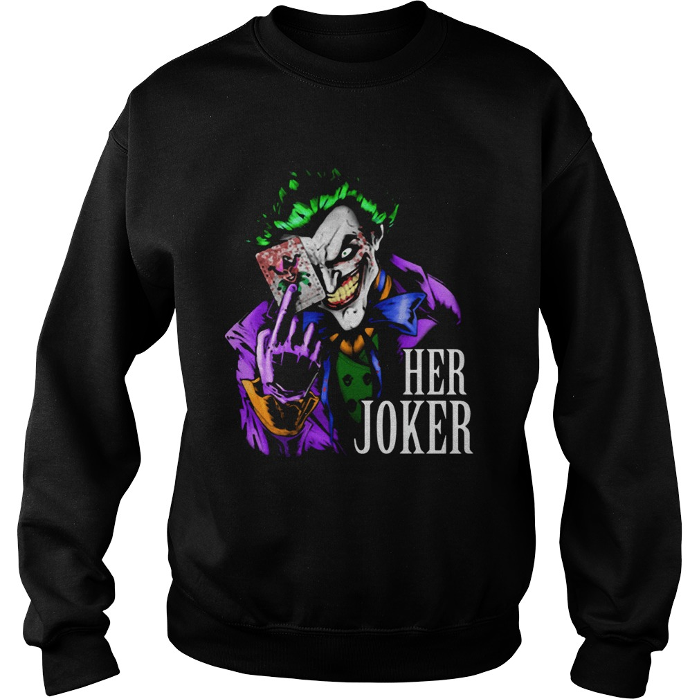 DC comics her joker  Sweatshirt