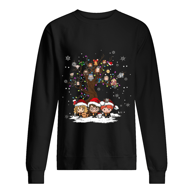 Harry Potter chracter chibi Christmas  Unisex Sweatshirt
