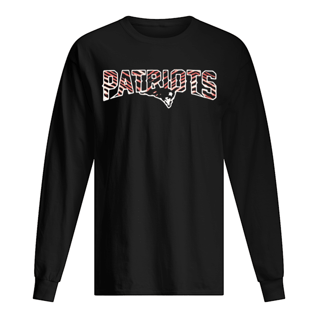 New England Patriots Sideline Legends  Long Sleeved T-shirt