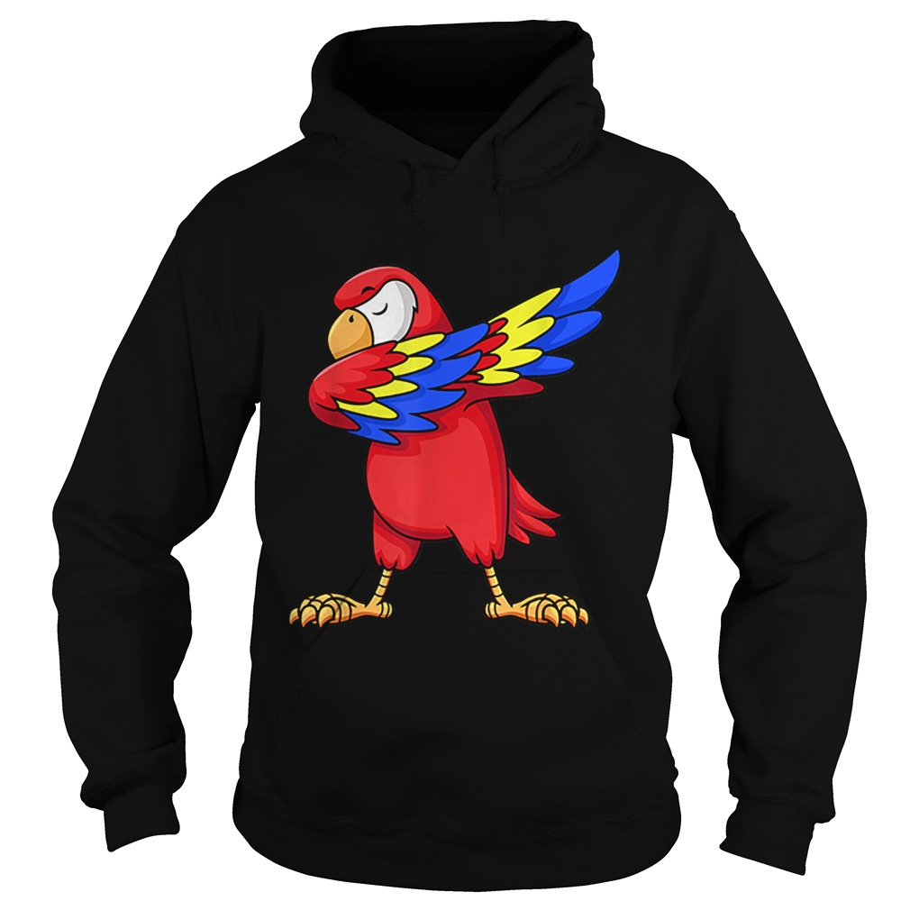 1575344161Parrot Dabbing for kids birthday party gift Family Christmas  Hoodie